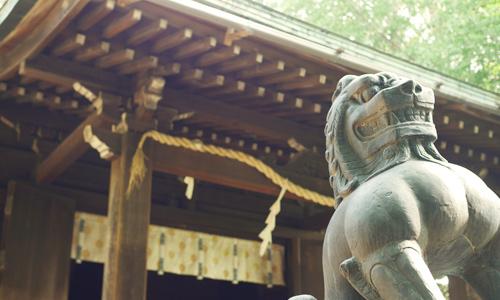 初夏の神社は風情があります!諏方神社でゆる鉄も★