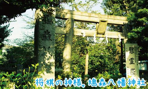 鳩森八幡神社は将棋と棋士を目指す人にとても縁の深い神社でした