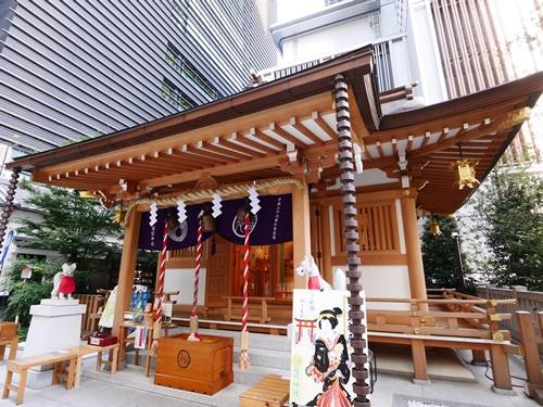 福徳神社は日本橋を守護するパワースポット!芽吹きのご利益を授かろう